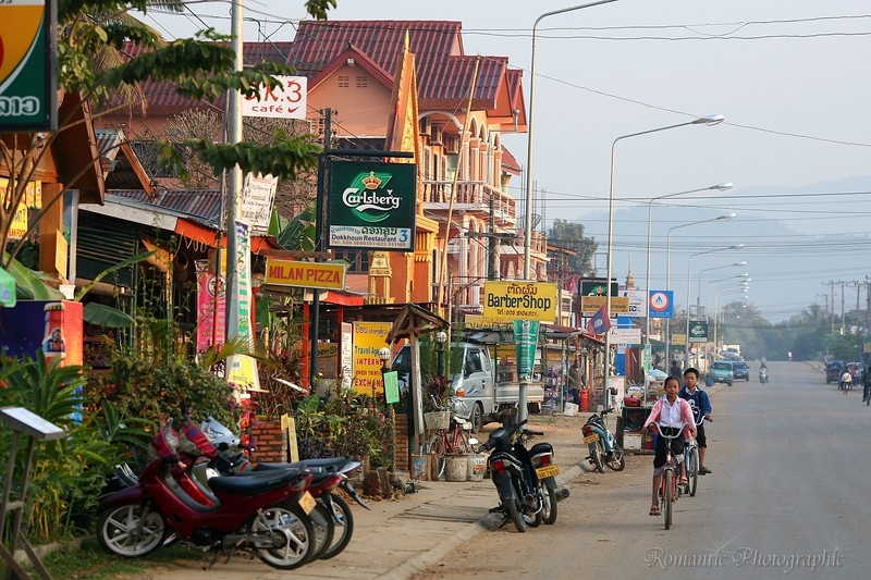 The main thoroughfare is home to many new shops catering to backpackers.