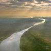 The Mekong 2000km from the delta