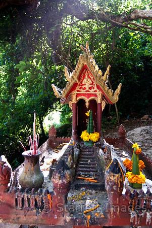 Buddhist shrine at Pak Ou Caves