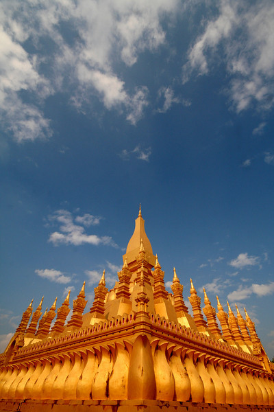 Wat Pha That Luang, Vientiane.