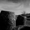Group of megalithic jars at the Plain of Jars (Site 1), Phonsavan.