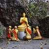 Mount Phousi Prayer to Buddha