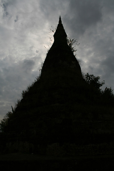 The Black Stupa (who'd have guessed?), Vientiane.