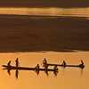 Sunset on the Mekong river, Vientiane, Laos