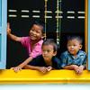 Laotian school kids