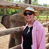 """Debra and """"Baby"""" Elephant"""