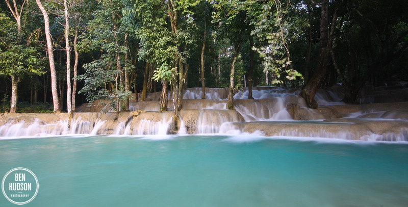 Tad Sae waterfall, outside Luang Prabang, Laos
