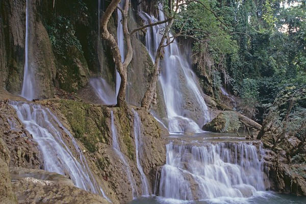 Waterfall 20x30 in Luang Prabang, Laos