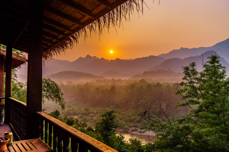 Sunrise Over the Jungle