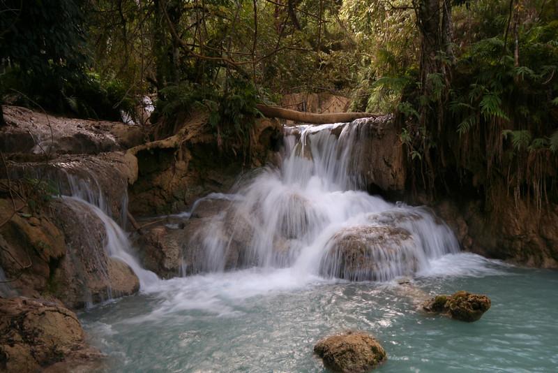 Kouanxi Waterfalls, near Luang Prabang, Laos.