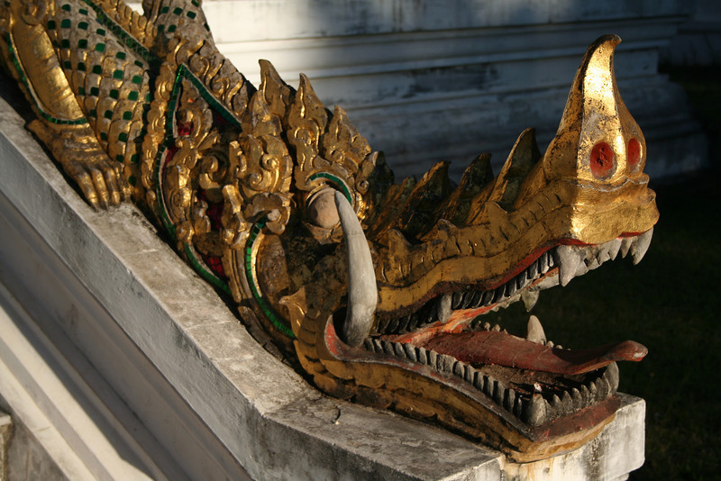 Guardian dragon, Luang Prabang.