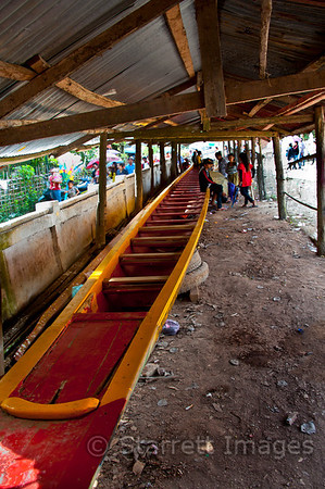 Canoes  can be amazingly long