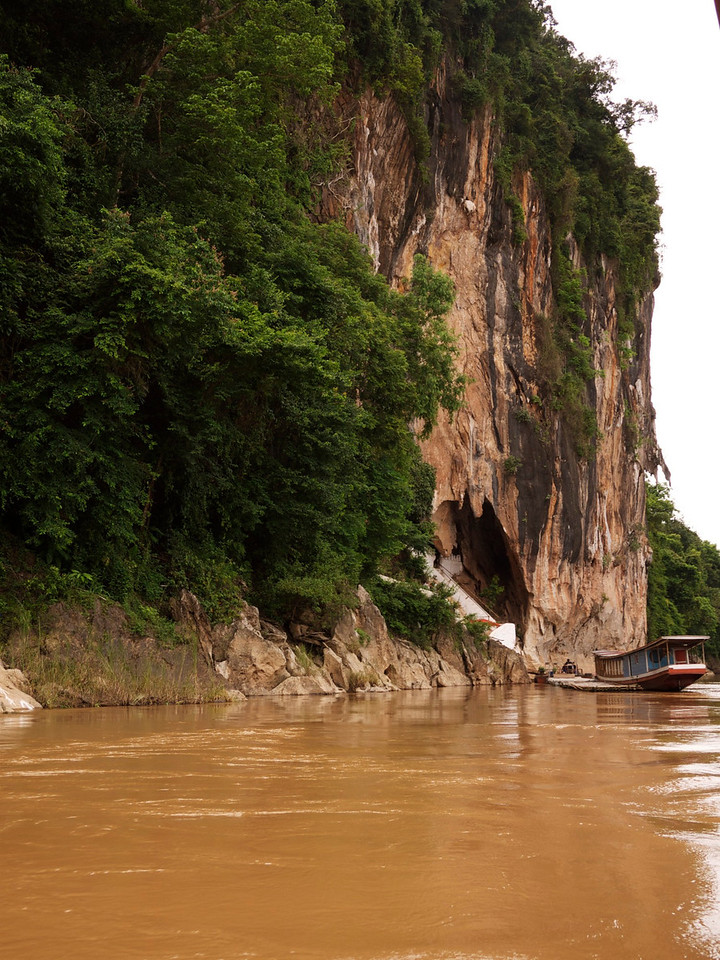 our final destination for the boat ride is the cave just ahead