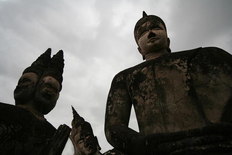 Buddha Park at Xieng Khuan, near Vientiane.