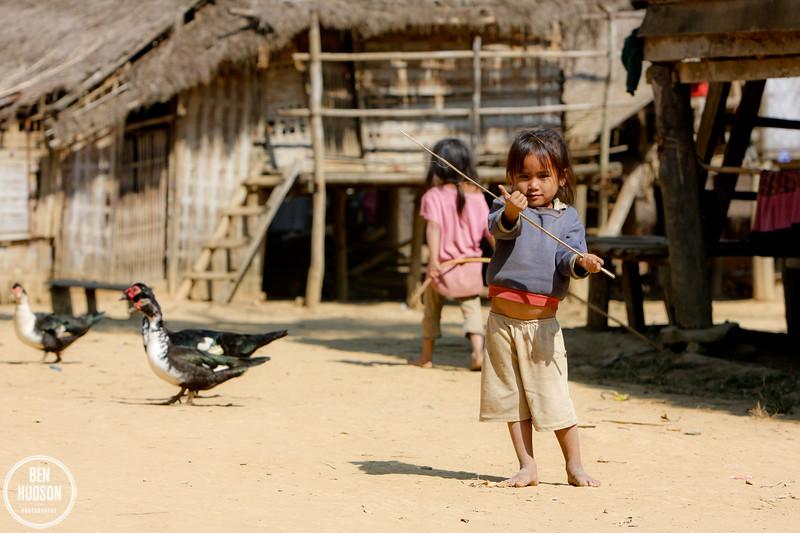 Village outside Luang Prabang, Laos