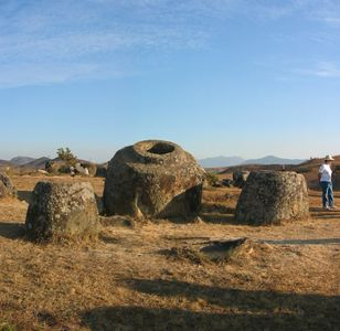 The Plain of Jars, central Laos, 2004.