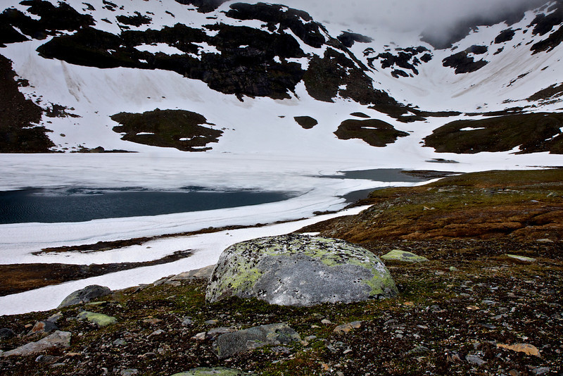 Mäskoesjaevrie, søen i Vitarskalet.