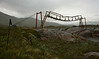 Bro ved Cunojavrrehytta, Narvikfjellene, Norway, Jul-2013