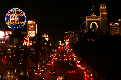 Las Vegas Strip at Night - south