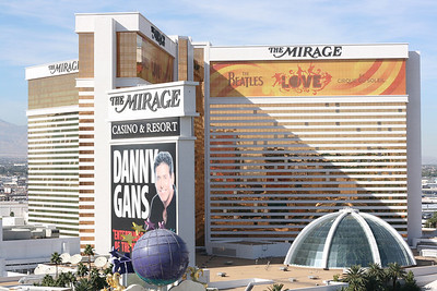 Mirage - view from our hotel window