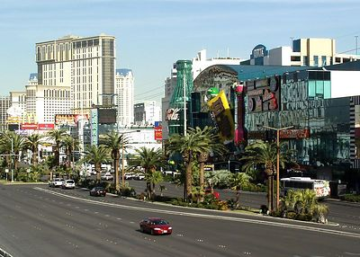 Shot of the strip