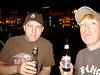 Corey & I doing what we do best. You gotta love a town you can walk around drinking beer and nobody cares!