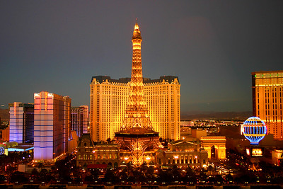 View from our room (#16026) of Paris Las Vegas