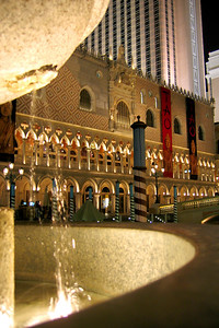 More interesting architecture at the Venetian