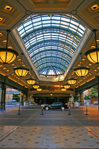 The car port at the Bellagio