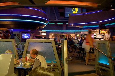 After Red Rock Canyon, we headed over to the Las Vegas Hilton and had lunch at Quark's Bar & Restaurant, part of the Star Trek Experience attraction.