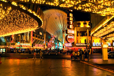 "That evening we checked out Fremont St., part of the ""old"" Las Vegas."