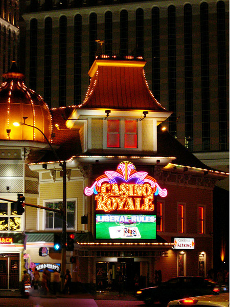 Casino Royale seen from Mirage