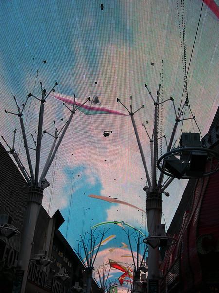 Fremont Street light show