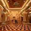 Venetian Hotel - Hallway with beautiful ceiling frescoes