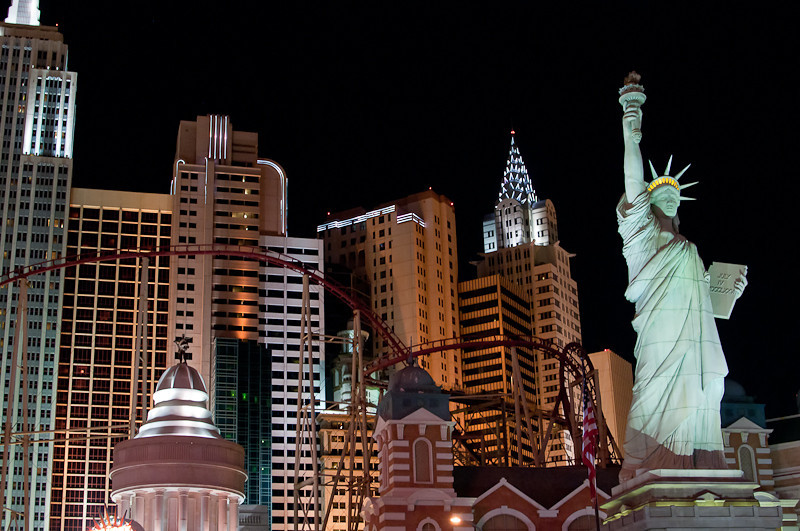 New York in Vegas.
