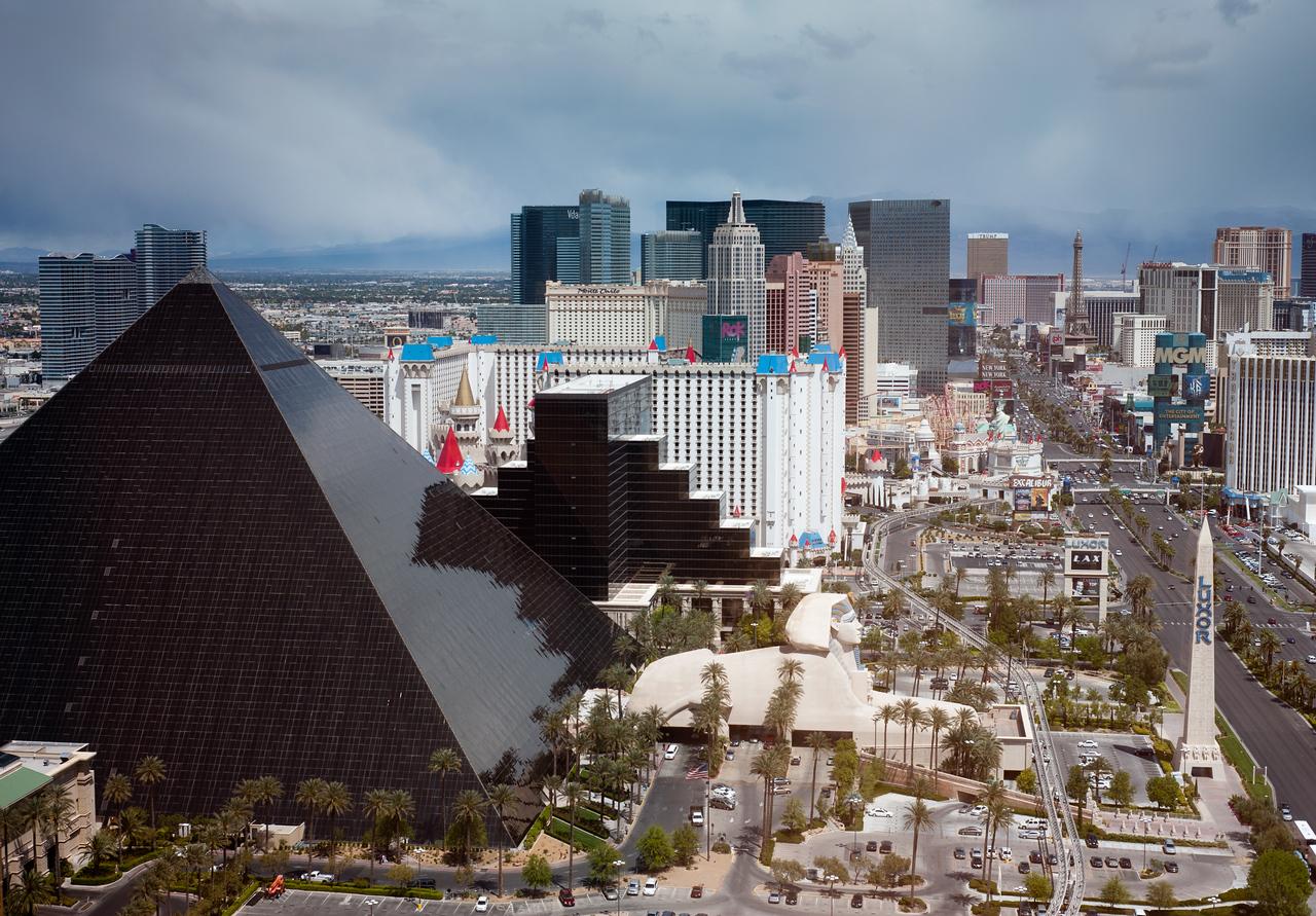 The Las Vegas Strip from the Four Seasons