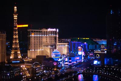 The Las Vegas Strip from Caesar's Palace