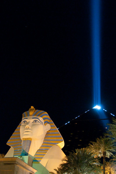 The Luxor sphinx