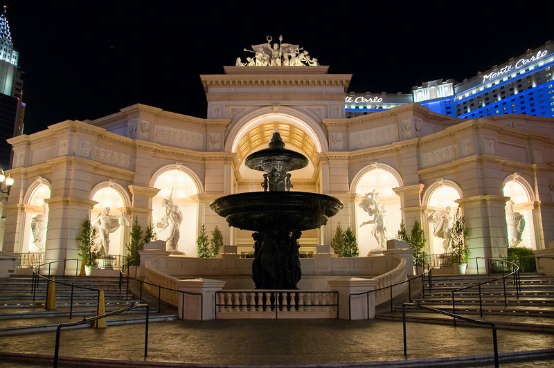 Monte Carlo water feature