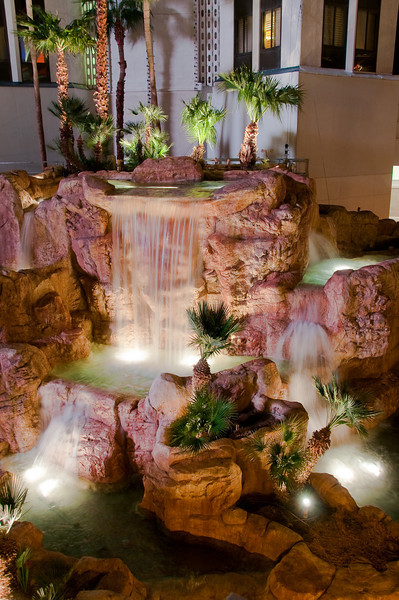 Tropicana water feature