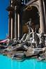 The Trevi fountain at Caesars Palace