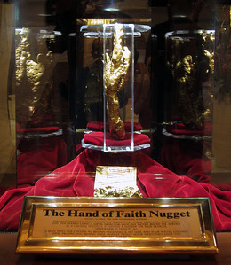 World's biggest Gold Nugget
