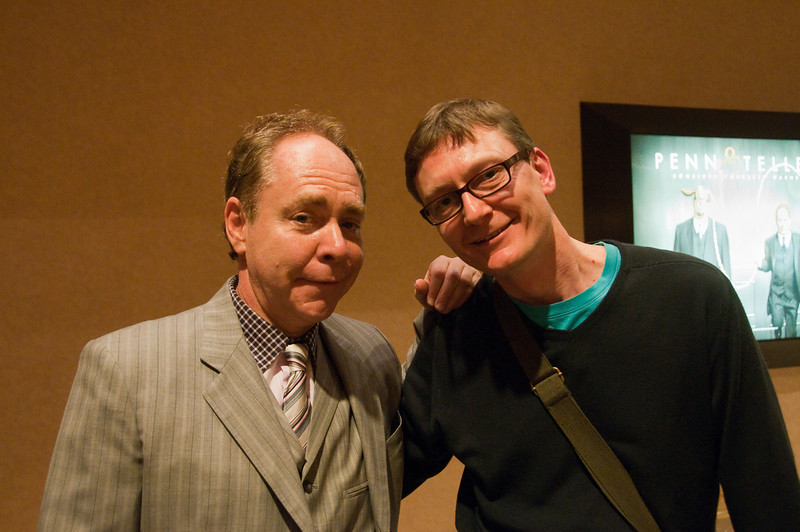 Teller and me