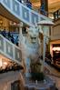 In the Forum Shops atrium
