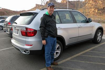 Hoover Dam BMW X5