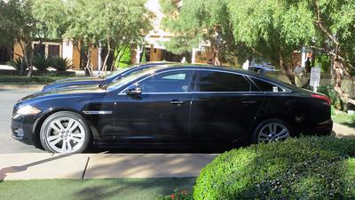Jaguar XJ-L limousine