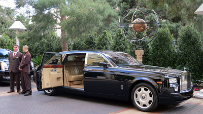 Rolls Royce Phantom at the Wynn