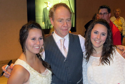 Teller and fans