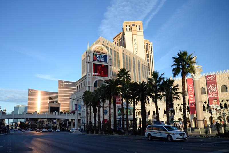 Vegas strip north