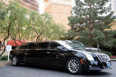 Cadillac limo Wynn Resort